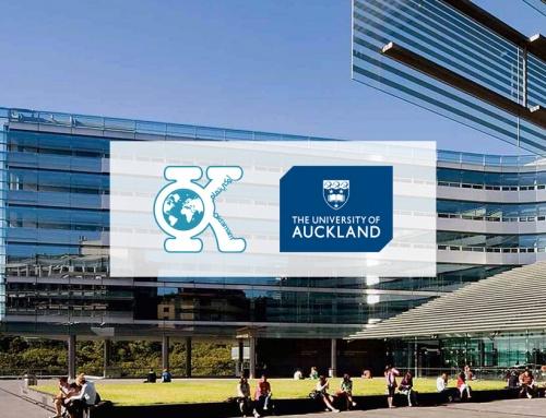توقيع عقد مع جامعة أوكلاند Auckland University