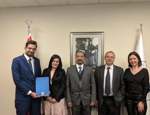 توقيع عقد شراكة حصرية مع جامعة اسطنبول أوكان